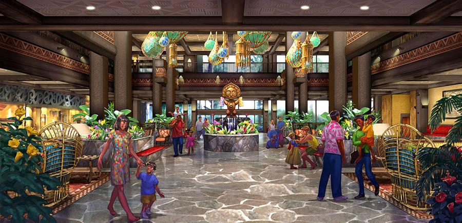 Disney's Polynesian Village Lobby
