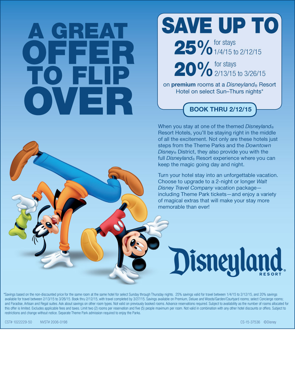 disneyland 2015 discount